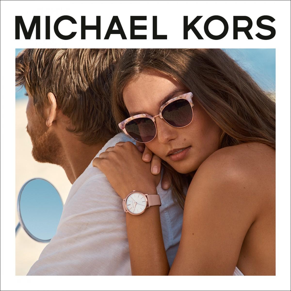 Michael Kors MK6592 Damen Uhr Petite Runway Edelstahl