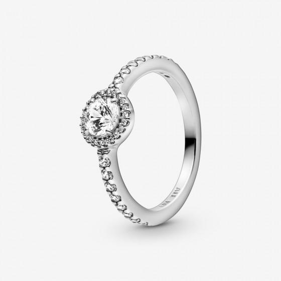 Pandora 198864C01 Ring Damen Klassischer Funkelnder Strahlenkranz Silber