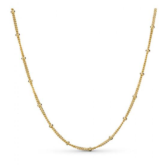 Pandora Shine 367210-70 Kette Beaded Silber-Gold 18K 70 cm