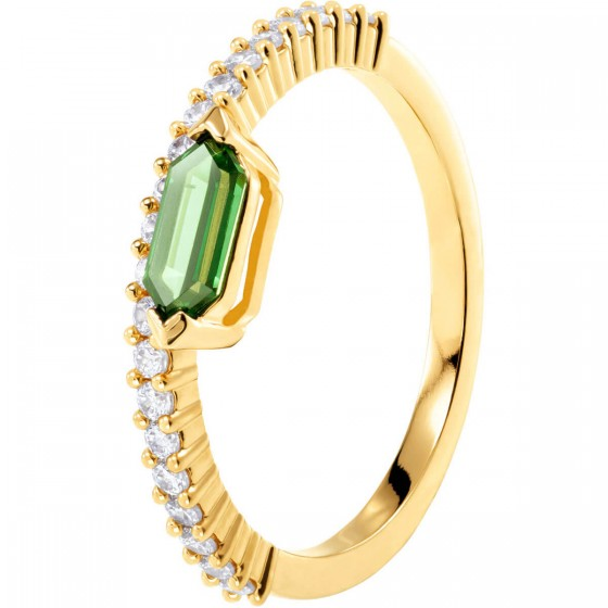 Swarovski Ring Damen Oz Weiss Vergoldet