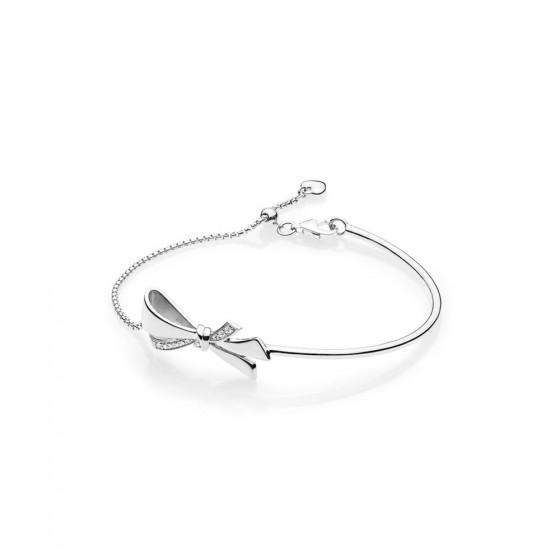 Pandora 597242CZ Armband Brilliant Bow Schleife Silber