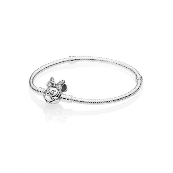 Pandora Disney 597770CZ Armband Damen Shimmering Minnie Portrait