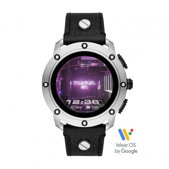 Diesel DZT2014 Smartwatch Herren Axial mit Leder-Armband Ø 48 mm
