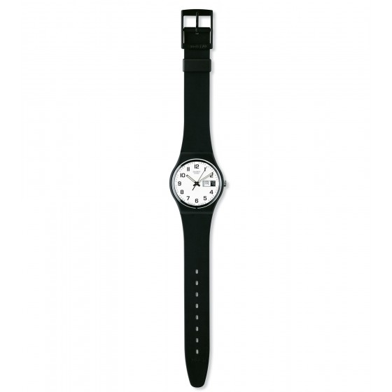 Swatch GB743 Armband-Uhr Once Again Analog Quarz mit Silikon-Band
