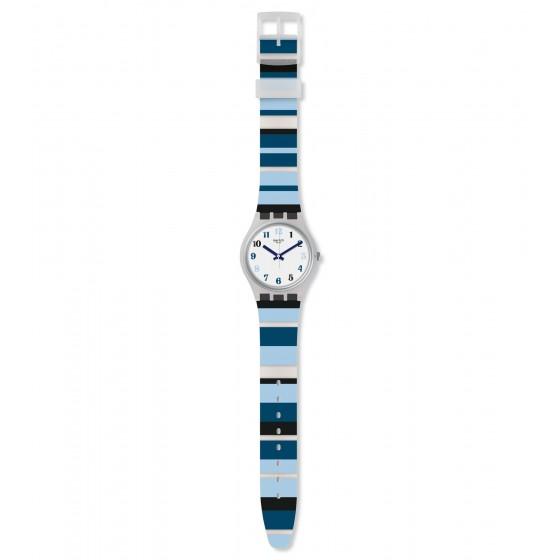 Swatch GE275 Armbanduhr Night Sky Quarz Silikon Armband Ø 34,00 mm