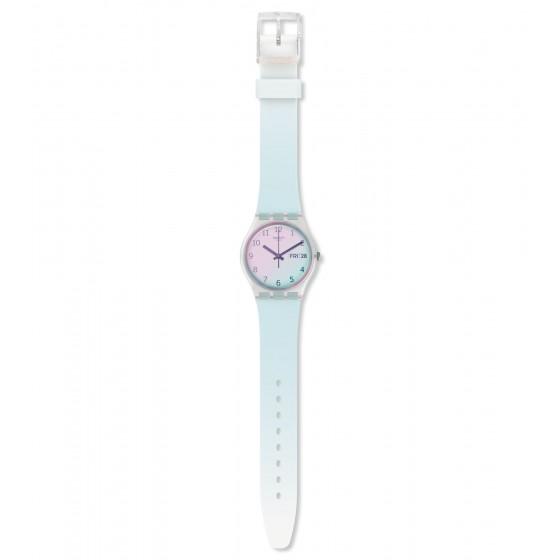 Swatch GE713 Armband-Uhr Ultraciel Analog Quarz Silikon-Band