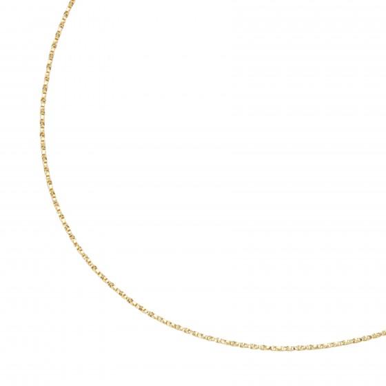 Karat 99042240450 Fantasiekette Collier Gedreht Massiv 375/- Gelb-Gold