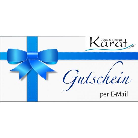 E-Geschenkkarte karat24.net per Mail