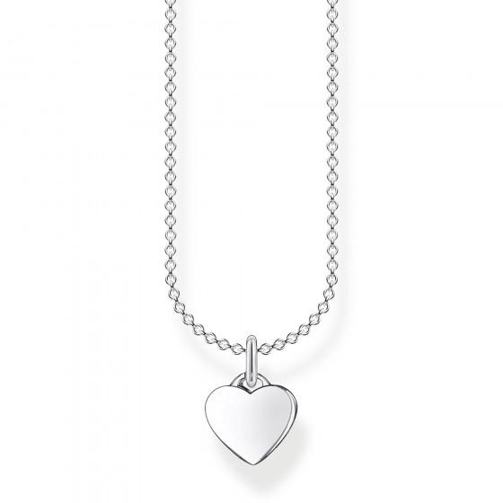Thomas Sabo KE2049-001-21 Halskette mit Anhänger Herz Sterling-Silber