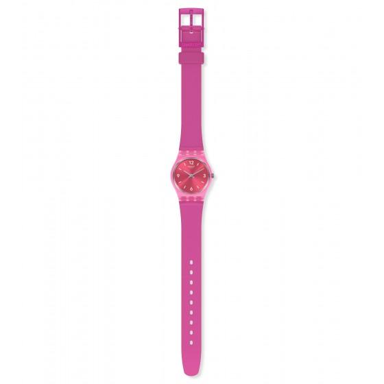 Swatch LP158 Armband-Uhr Fairy Cherry Analog Quarz Silikon-Armband