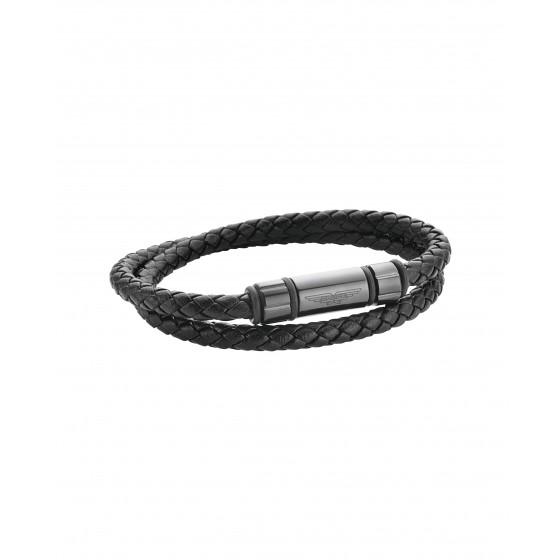 Police PJ26403BLBU.01 Armband MIB International Onset Leder