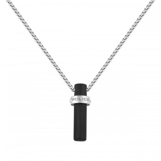 Police PJ26460PSS.01 Halskette mit Anhänger Loggas Edelstahl Silber