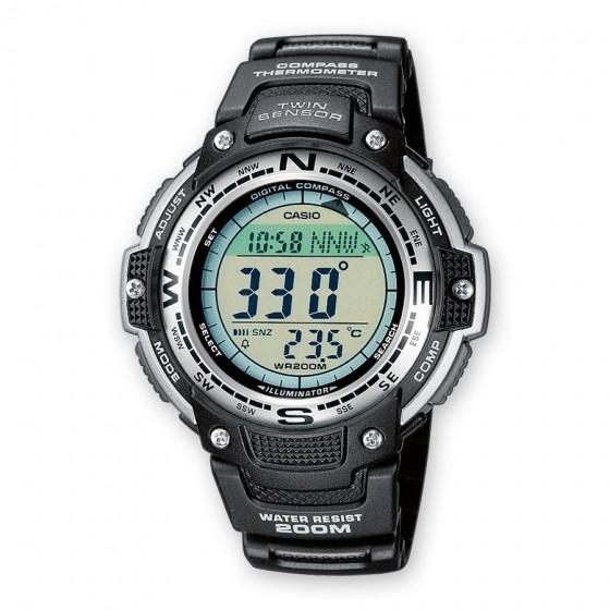 Casio SGW-100-1VEF Herren-Uhr Collection Quarz Resin-Armband