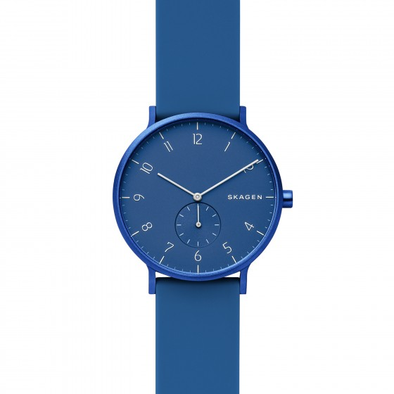 Skagen SKW6508 Unisex-Uhr Aaren Kulor Analog Quarz Silikon-Band Ø 41 mm