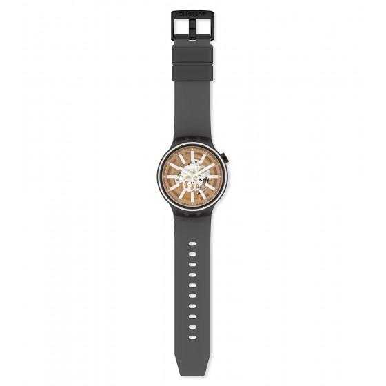 Swatch SO27B114 Armband-Uhr Light Taste Analog Quarz Silikon-Armband