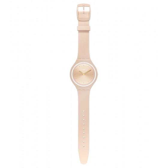 Swatch SVUT100 Armband-Uhr Skinskin Analog Quarz Silikon-Armband