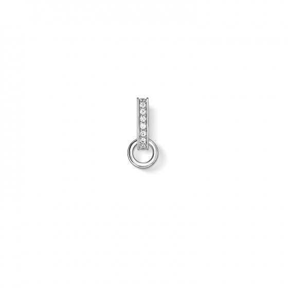 Thomas Sabo X0261-051-14 Carrier Charmträger Damen Weiss Sterling-Silber