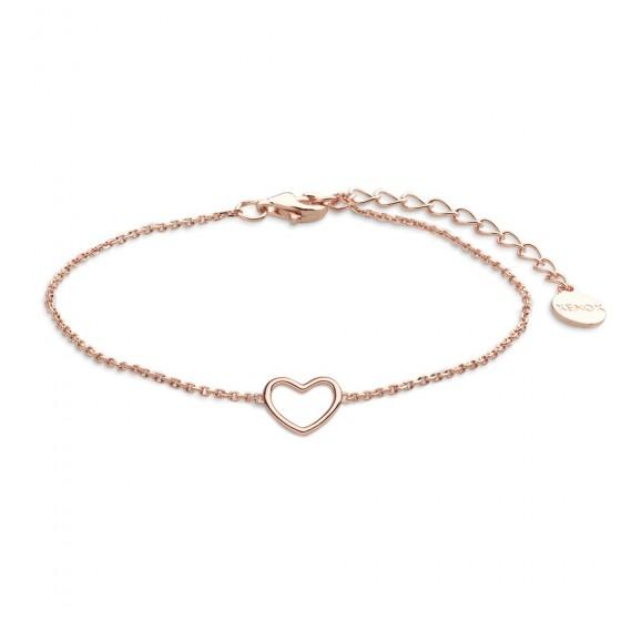 Xenox XS1757R Armband Damen Herz Sterling-Silber Rosé Vergoldet