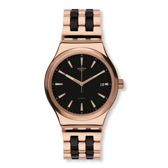 Swatch YIG400G Armbanduhr Sistem Dafne Automatik mit Edelstahl Armband Ø 42,00 mm