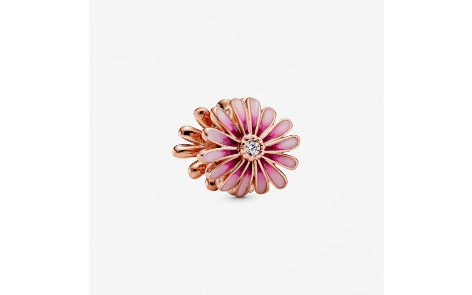 Pandora Rose 788775C01 Charm Rosafarbenes Gänseblümchen