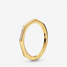 Pandora Shine 168343CZ Ring Damen Multifaceted Sterling-Silber Vergoldet