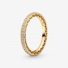 Pandora Shine 168655C01 Ring Damen Funkeln & Herzen
