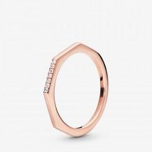 Pandora Rose 188343CZ Ring Damen Multifaceted Rosé Vergoldet