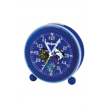 Scout 280001007 Kinder-Wecker Jungle Shark Fire Dragon Blau NightLight