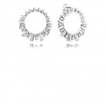Pandora 297545CZ Ohrringe Glacial Beauty Sterling-Silber
