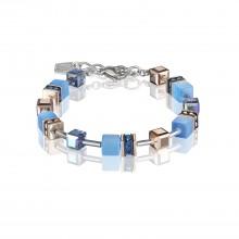 Coeur de Lion 4016/30-0700 Armband GeoCUBE® Swarovski® Kristalle Blau