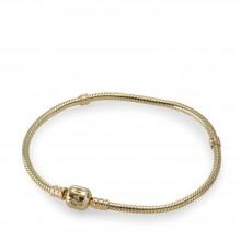 Pandora 550702 Armband Moments 14-K-Gold Clasp Bracelet 585/- Gelbgold