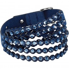 Swarovski 5511697 Armband Damen Power Collection Slake Blau