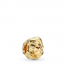 Pandora Disney Shine 768049ENMX Charm The Lion King Simba Silber-Gold 18 K