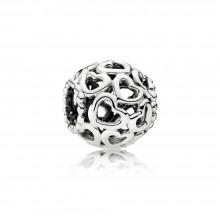 Pandora 790964 Charm Herzstrudel Sterling-Silber