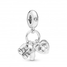 Pandora 798106CZ Charm-Anhänger My Little Baby Sterling-Silber