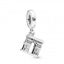 Pandora 798127CZ Charm-Anhänger Arc de Triomphe Paris Sterling-Silber
