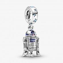 Pandora Star Wars 799248C01 Charm-Anhänger Damen R2-D2 Sterling-Silber