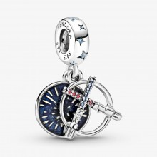 Pandora Star Wars 799252C01 Charm-Anhänger Lichtschwert Sterling-Silber