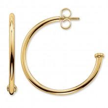 Thomas Sabo CR589-413-12 Creolen Ohrringe für Beads Klein Vergoldet