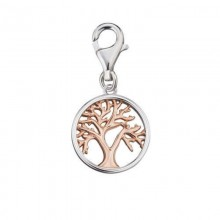 Engelsrufer ERC-LILTREE-BICOR Charm-Anhänger Tree of Life Lebensbaum