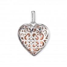 Engelsrufer ERP-16-HEART-ZI-L Anhänger Herz Silber mit Zirkonia