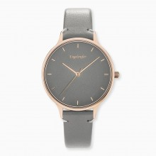 Engelsrufer ERWA-COLOUR-LGY2 Damen-Uhr Colour Analog Quarz Rosé Grau
