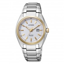 Citizen EW2214-52A Eco-Drive Damen-Uhr Super Titanium Analog Quarz