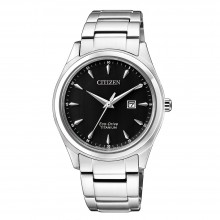 Citizen EW2470-87E Eco-Drive Damen-Uhr Super Titanium Analog Quarz