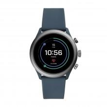 Fossil FTW4021 Smartwatch Herren Sport mit Silikon-Band Ø 43 mm