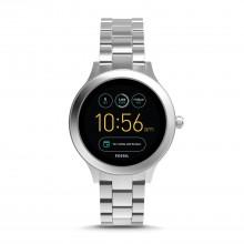 Fossil FTW6003 Smartwatch Damen Venture 3. Generation mit Edelstahl-Band