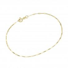Karat 92016150190 Armband Damen Fantasiekette Diamantiert 585/- Gelb-Gold