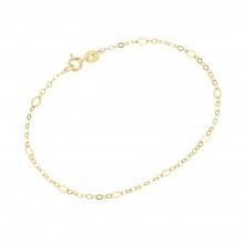Karat 92014240190 Armband Damen Fantasiekette Diamantiert 375/- Gelb-Gold