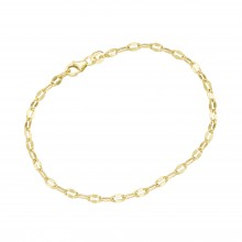 Karat 92014440190 Armband Damen Fantasiekette Diamantiert 375/- Gelb-Gold