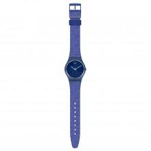 Swatch GN270 Armband-Uhr Blumino Analog Quarz Silikon-Armband